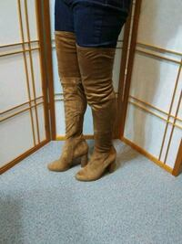 High thigh boot like new size 8