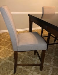 Solid granite top table with 7 chairs!