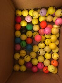 50 Colored Golf Balls-Clean & In Great Condition Jackson, 08527