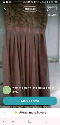 women's brown skirt screenshot Vancouver, V5X 1N4
