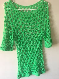 Green Crochet T-Shirt Essex, 21221