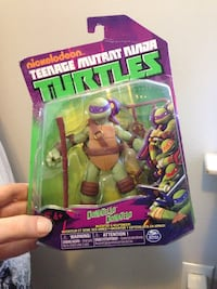 TMNT action figure in pack Kitchener, N2G 1S4