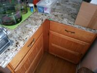 Corner marble counter  Mississauga, L4T 1K5