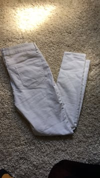 two gray and white pants Pittston, 18640