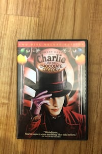 Charlie and the Chocolate Factory Deluxe 2 Disc Edition.