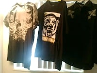 black and white crew neck shirt Fort Lauderdale, 33334