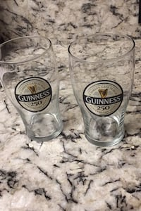Limited Edition Guinness 250 Anniversary cups