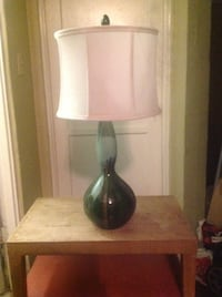 white and green table lamp 2272 mi