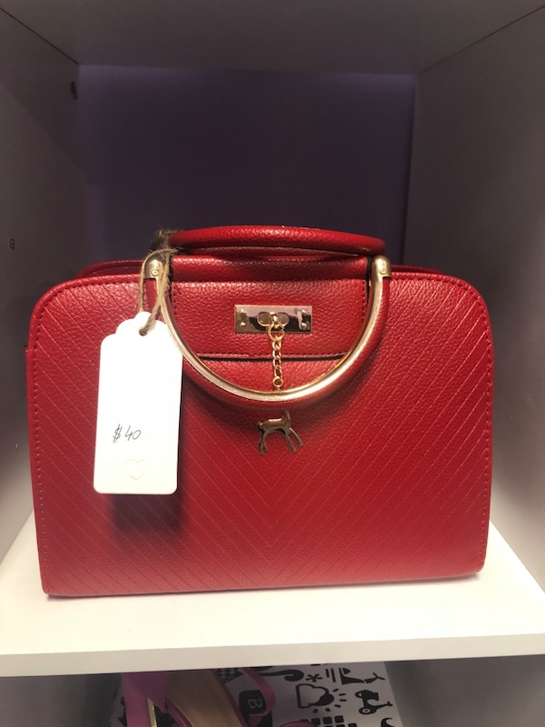 896e3660d1d Used New red purse for sale in Lovejoy - letgo