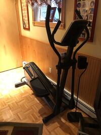 black and gray elliptical trainer East Atlantic Beach, 11561