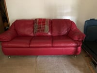 2 pc Leather Couch and LoveSeat Cheltenham, 20623