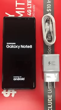Samsung Galaxy Note 8 64GB. Excellent condition. Unlocked for any carrier sim in USA or WORLDWIDE  Somerville, 02145