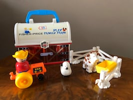 Fisher price carry barn