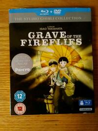 Grave of the Fireflies Blu Ray/ DVD combo