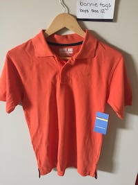 red and white polo shirt Kitchener, N2N 3E8