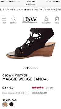 Letgo dsw wedges in cherokee ranch pa for Dsw return policy