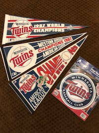 Twins Fan Pack! ALL 4 for $25!!!