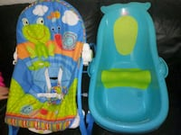 baby's blue and green bather Houston, 77012