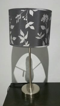 Bouclair Grey and silver table lamp Toronto, M4C 3C5