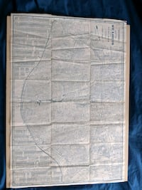 Vintage H. W. Gross Map Of St. Louis & Suburbs Bronx, 10465