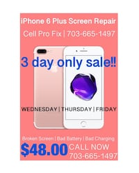 iPhone 6 Plus screen repair Special Leesburg