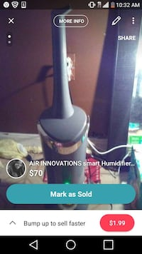 Smart humidifier Air Innovations  Fort Washington, 20744