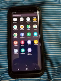 black Samsung Galaxy S8 in box Edmonton, T5C 1Y1