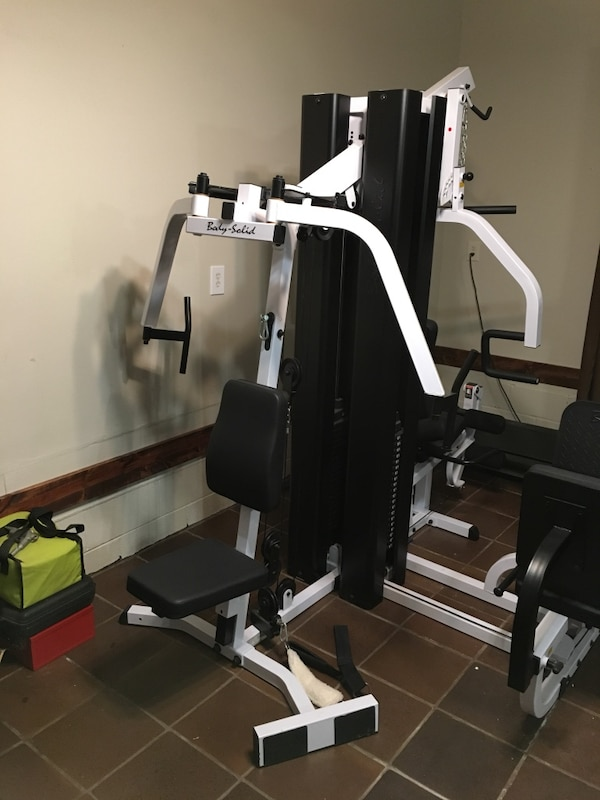 Used body solid exm3000lps home gym for sale in genoa letgo