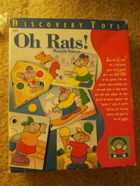 Oh Rats! Puzzle Game