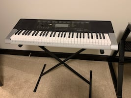 Casio CTK-4400 Keyboard with Stand