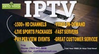 IPTV SERVICE - CALL NOW FOR A 24 HOUR FREE TRIAL Edmonton, T6X 1A4
