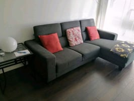 """Cameron"" sectional sofa- from Structube"