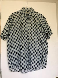 white and black button-up shirt Conroe, 77302