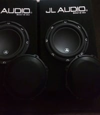 """2 8"""" JL AUDIO Subs w/ported box"""