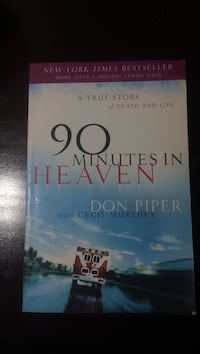90 Minutes in Heaven novel books Vaughan, L6A 3E7