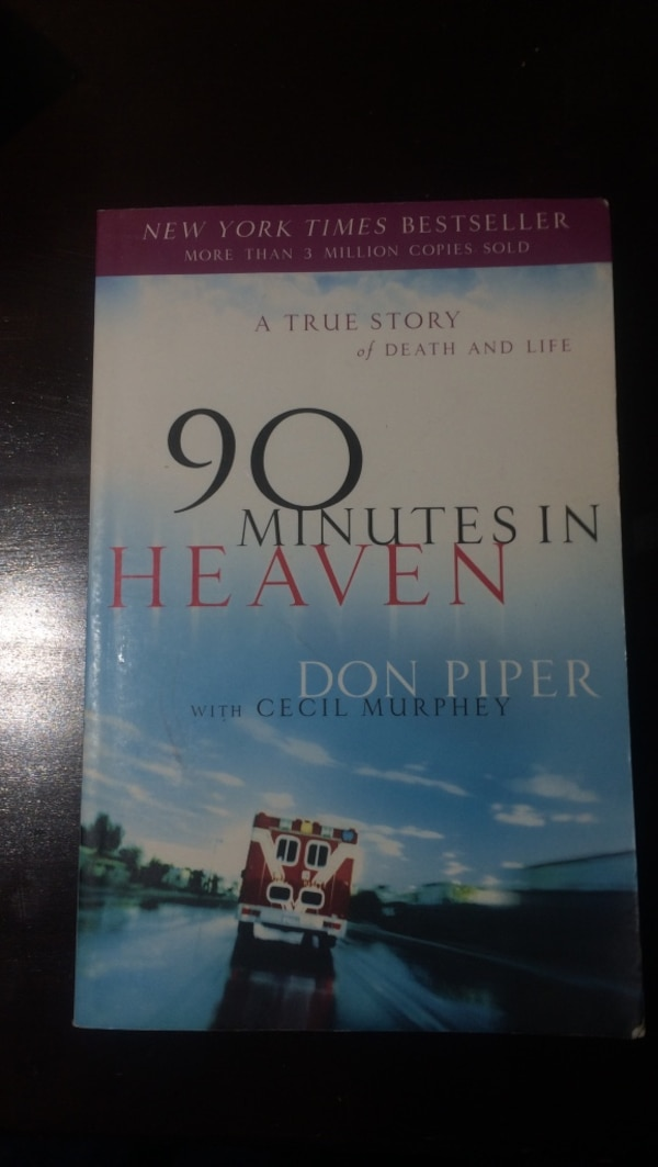 90 Minutes in Heaven novel books
