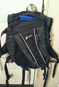 MEC black backpack with hydration bag and tube Abbotsford, V4X 2P7