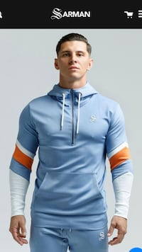 Sarman Men's hoodies and pants for sale. Tracksuits for sale  Laval, H7R 4X2