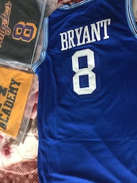 Blue and white kobe Bryant lakers jersey  Surrey, V3V 4K5