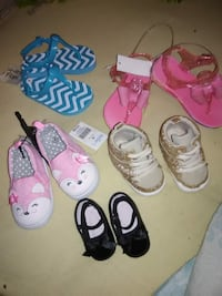 assorted-color-and-brand footwear lot Laurel, 39440