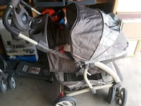 baby's gray and black stroller Conway, 72032