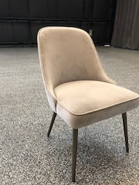 6 Suede dining chairs Fullerton, 92833