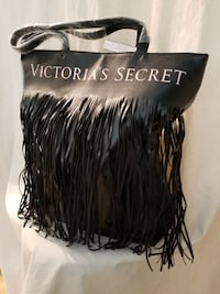 Victorias secret fringe tote NEW