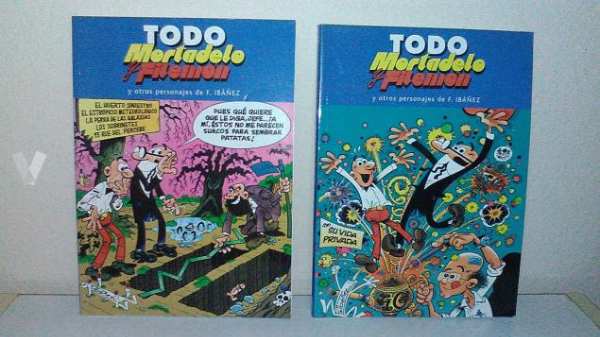Cómics Mortadelo y Filemón Sevilla