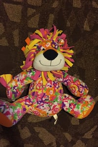 Plush lion toy Knoxville