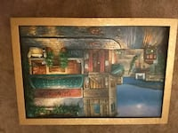 24x36 Oil Painting with Gold Frame Scottsdale, 85250