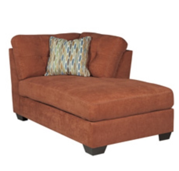 Used Rust Chaise Lounge for sale in Houston - letgo Chaise Lounge Chairs Houston on living room furniture houston, rug houston, office lounge houston,