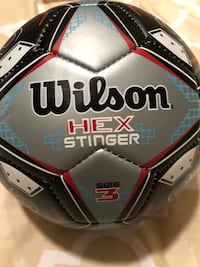 Wilson size 3 soccer ball  Windsor, 23487
