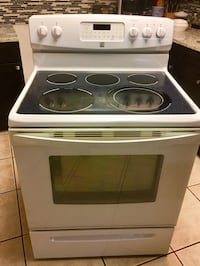 Kenmore convection oven with range hood 775 mi