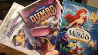 3 disney DVDs 10 km
